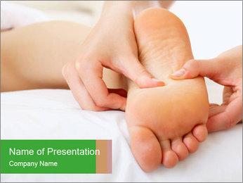 Feet Medical Massage PowerPoint Template