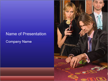 Poker Party PowerPoint Template