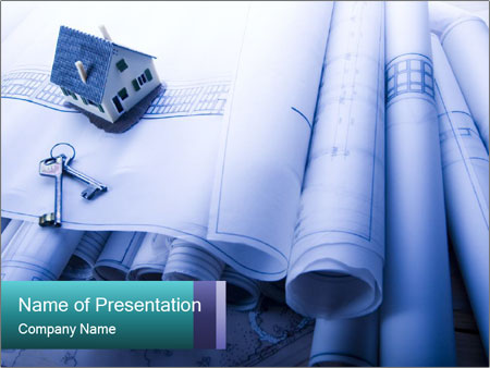 Architecture Project PowerPoint Template & Infographics Slides