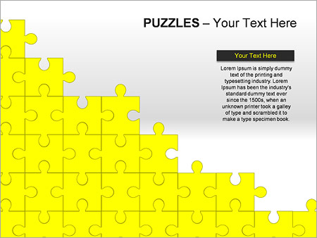 Puzzles Wall PPT Diagrams & Chart - Slide 15