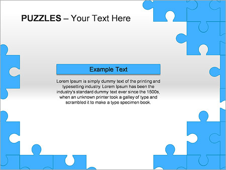 Puzzles Wall PPT Diagrams & Chart - Slide 16