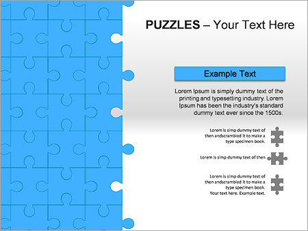 Puzzles Wall PPT Diagrams & Chart - Slide 17