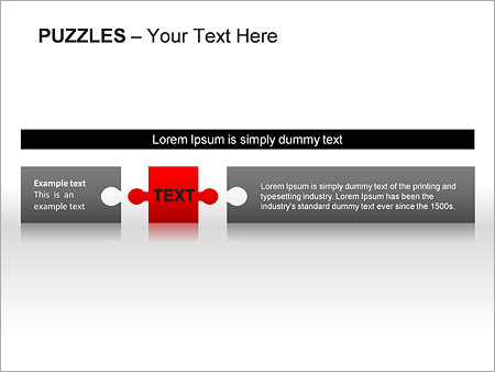 Puzzles Wall PPT Diagrams & Chart - Slide 20