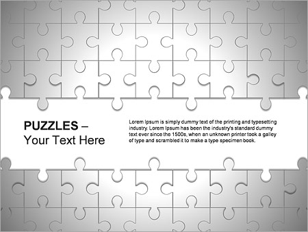 Puzzles Wall PPT Diagrams & Chart - Slide 4