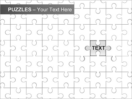 Puzzles Wall PPT Diagrams & Chart - Slide 5