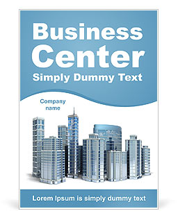 Business Center Ad Template