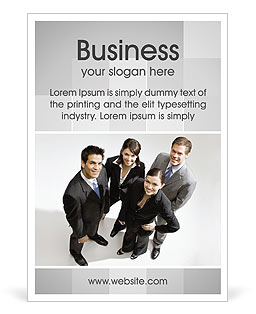 Business People Ad Template