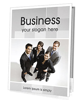 Business People Presentation Folder