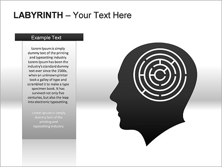 Labyrinth PPT Diagrams & Chart - Slide 12