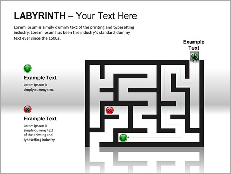 Labyrinth PPT Diagrams & Chart - Slide 14
