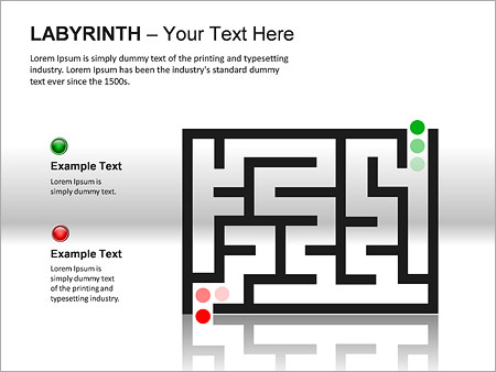 Labyrinth PPT Diagrams & Chart - Slide 15