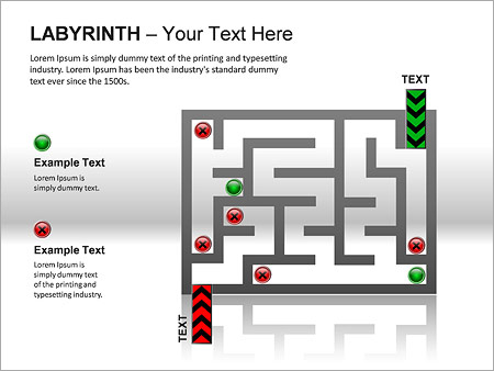 Labyrinth PPT Diagrams & Chart - Slide 16
