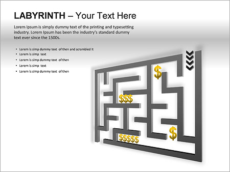 Labyrinth PPT Diagrams & Chart - Slide 17