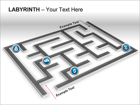 Labyrinth PPT Diagrams & Chart - Slide 18