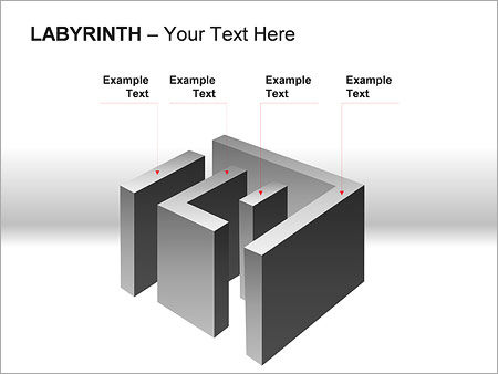 Labyrinth PPT Diagrams & Chart - Slide 4