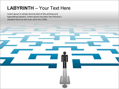 Labyrinth PPT Diagrams & Chart - Slide 7