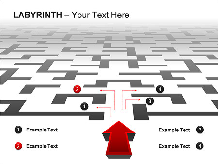 Labyrinth PPT Diagrams & Chart - Slide 8