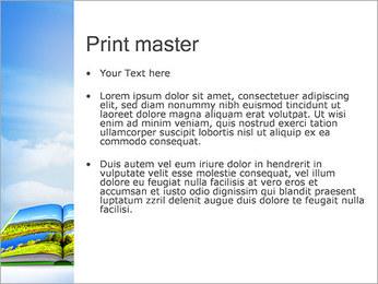 Nature livre Modèles des présentations  PowerPoint