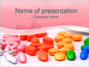 Tablets And Pills Point Template