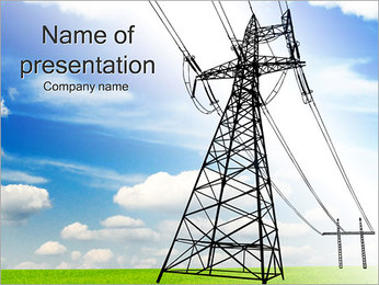Electrical - PowerPoint Template - SmileTemplates com