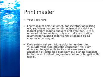 Sous-marin Modèles des présentations  PowerPoint