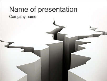 Crack PowerPoint Template