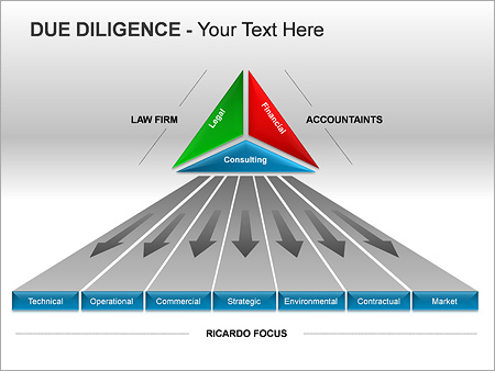 Due Diligence PPT Diagrams & Chart