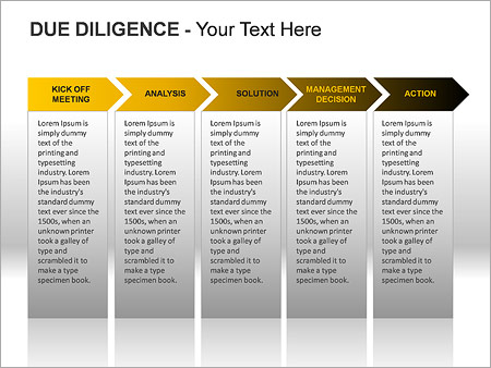 Due Diligence PPT Diagrams & Chart - Slide 14