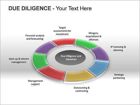 Due Diligence PPT Diagrams & Chart - Slide 3