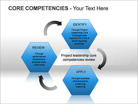 Core Competencies PPT Diagrams & Chart - Slide 12