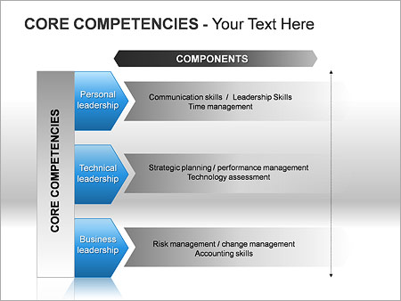 Core Competencies PPT Diagrams & Chart - Slide 14
