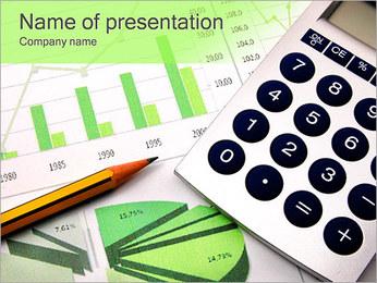 ビジネスチャート PowerPointプレゼンテーションのテンプレート