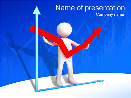 Financial Increase PowerPoint Template