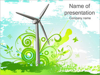Energy PowerPoint Templates & Backgrounds, Google Slides