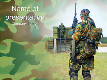Free Military PowerPoint Templates & Backgrounds, Google Slides