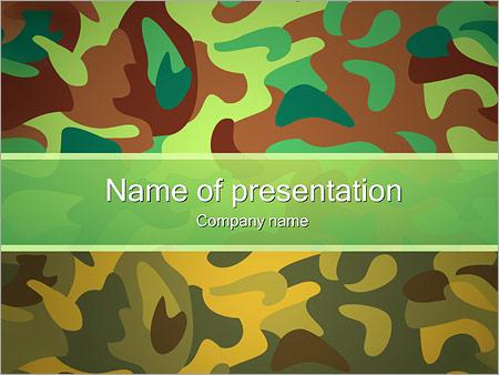 Kaki fond Modèles des présentations  PowerPoint