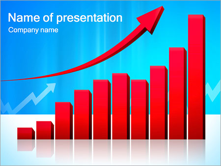 Red Diagram PowerPoint Template