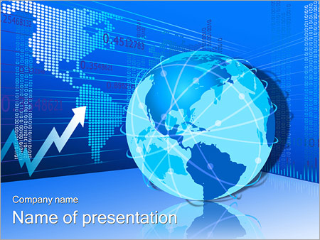 Earth Arrow Diagram PowerPoint Template