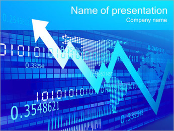 Fast Financial Growth PowerPoint Template