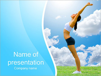 Wellness Powerpoint Templates Backgrounds Google Slides