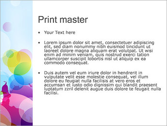 Abstraction Canvas PowerPoint Template