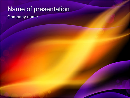 Northern Lights PowerPoint Template