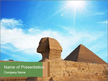 Pharaoh in Egypt PowerPoint Template