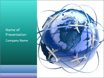 Air Travel PowerPoint Template
