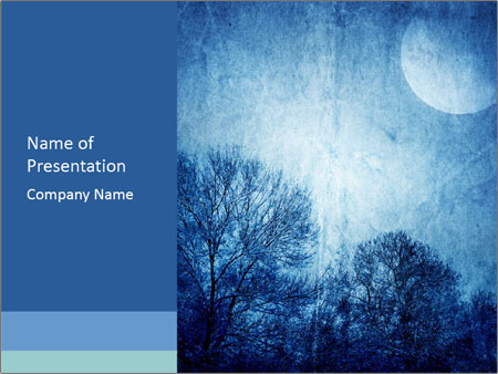 Mystic Moon PowerPoint Template & Infographics Slides