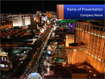 Casino Tour PowerPoint Template