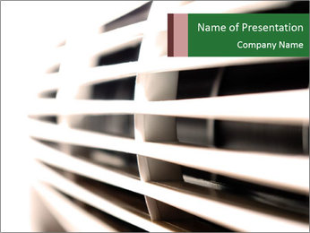 Air conditioning - PowerPoint Template - SmileTemplates com