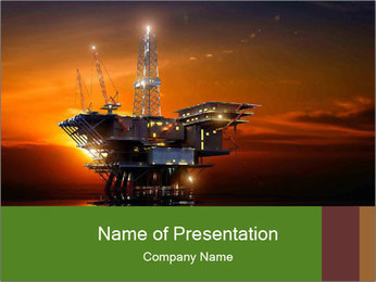 Petroleum - PowerPoint Template - SmileTemplates com