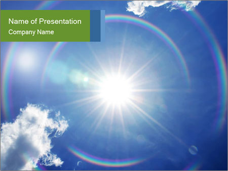 Heaven Shine Powerpoint Template Infographics Slides