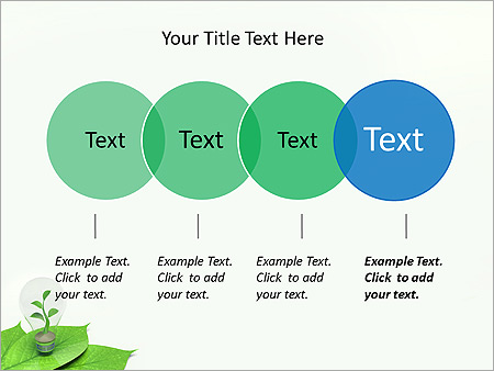 Green Idea Animated PowerPoint Template - Slide 10